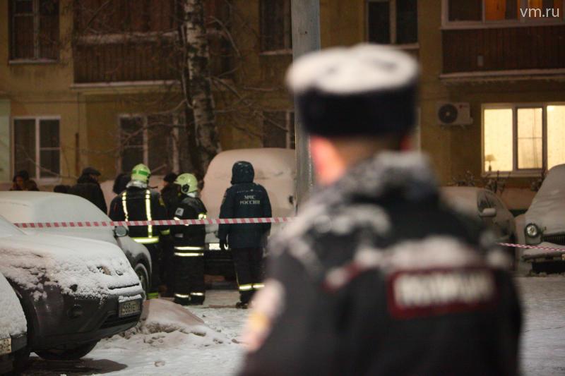 В Москве задержаны угонщики столкнувшегося с тремя машинами микроавтобуса