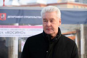 09 января 2017 Мэр Москвы Сергей Собянин осмотрел ход строительства Кожуховской линии метро