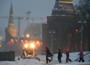 05 декабря 2016 Снег в Москве