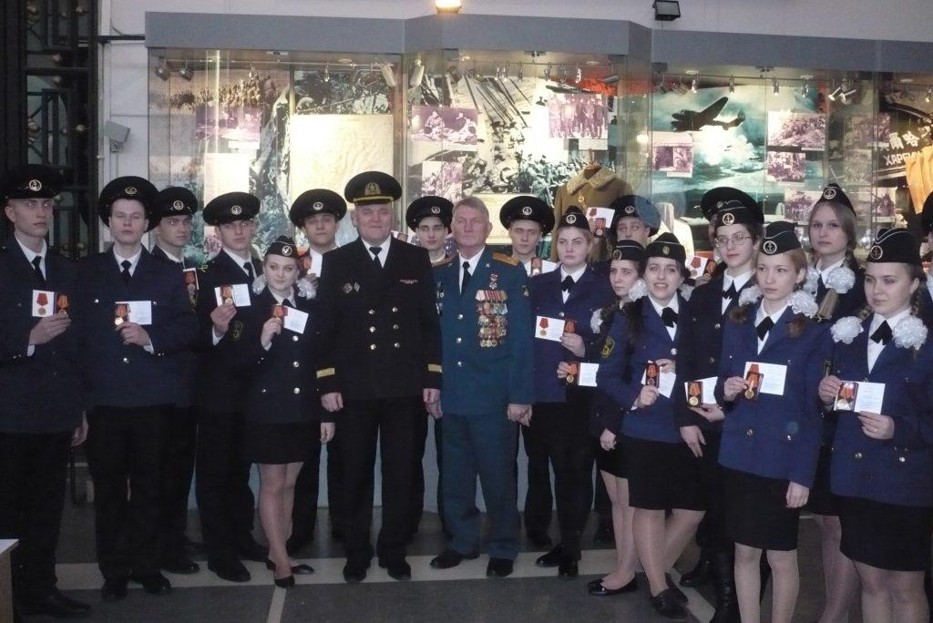 Курсантов Академии водного транспорта наградили за участие в параде на Красной площади