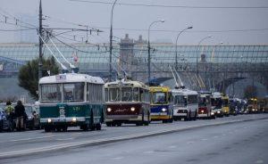 В Москве подвели итоги работы общественного транспорта в Новогоднюю ночь. Фото архивное
