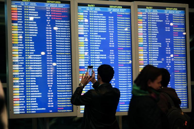 Работа в московских аэропортов нормализуются