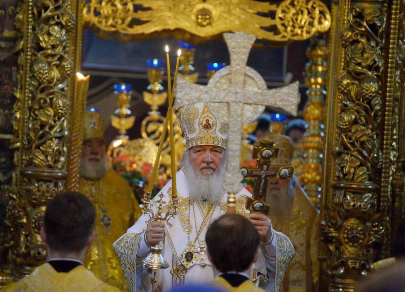 Патриарх Кирилл не будет принимать участие в Крещенских мероприятиях