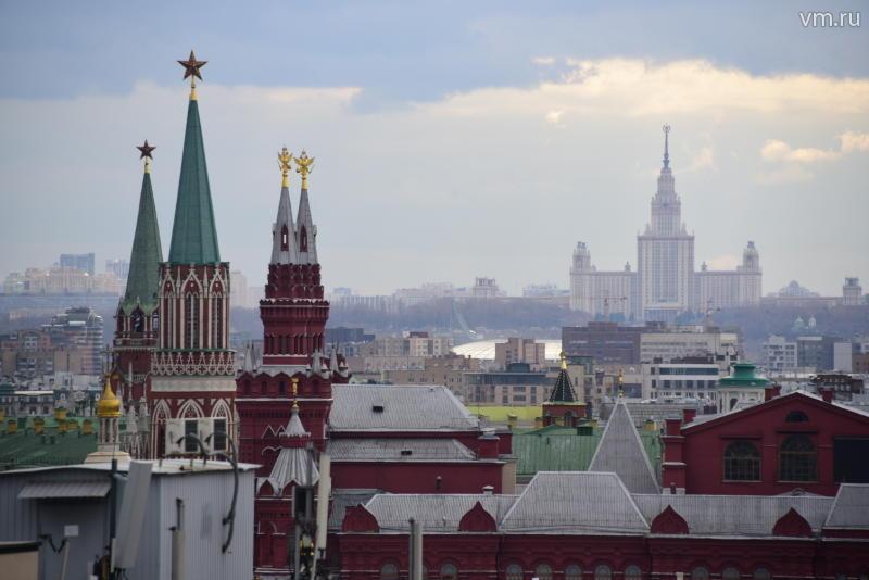 Москва вошла в тройку наиболее популярных городов для путешествий