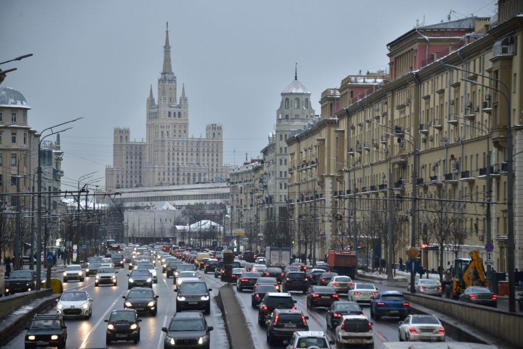 Москва вышла издесятки самых загруженных городов мира порейтингу TomTom