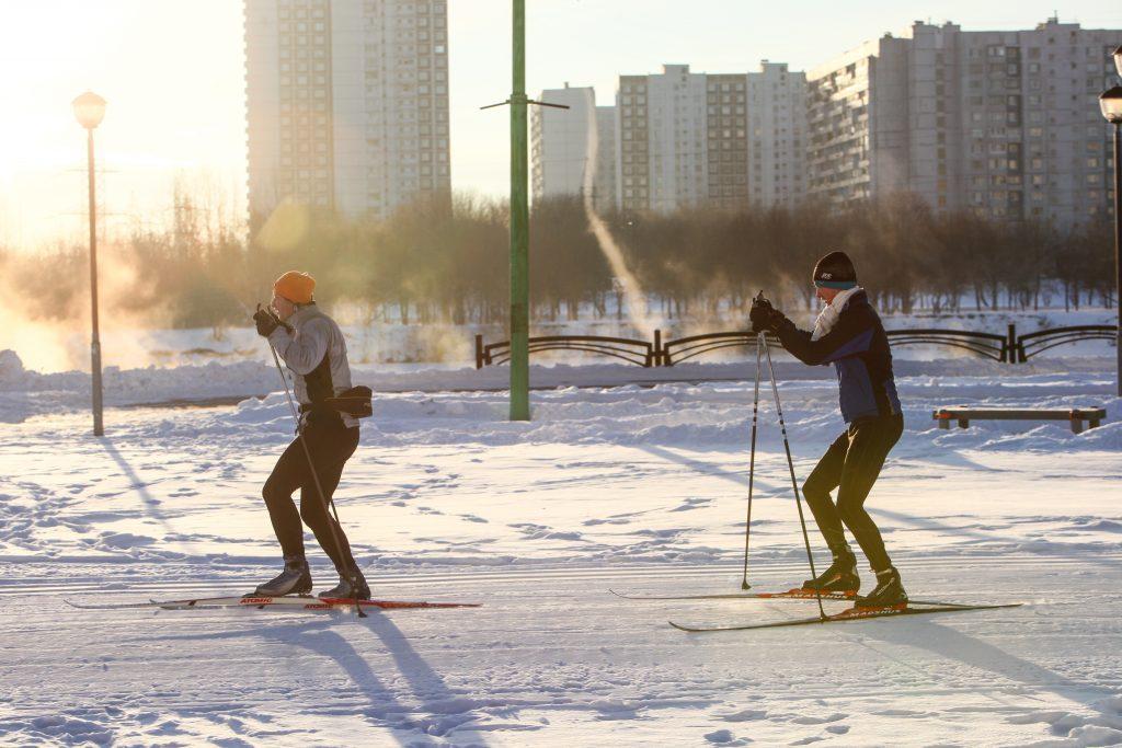 В Москве прошел первый этап лыжни
