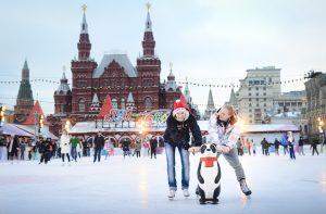 """В первый день весны катки станут бесплатными. Фото: """"Вечерняя Москва"""""""