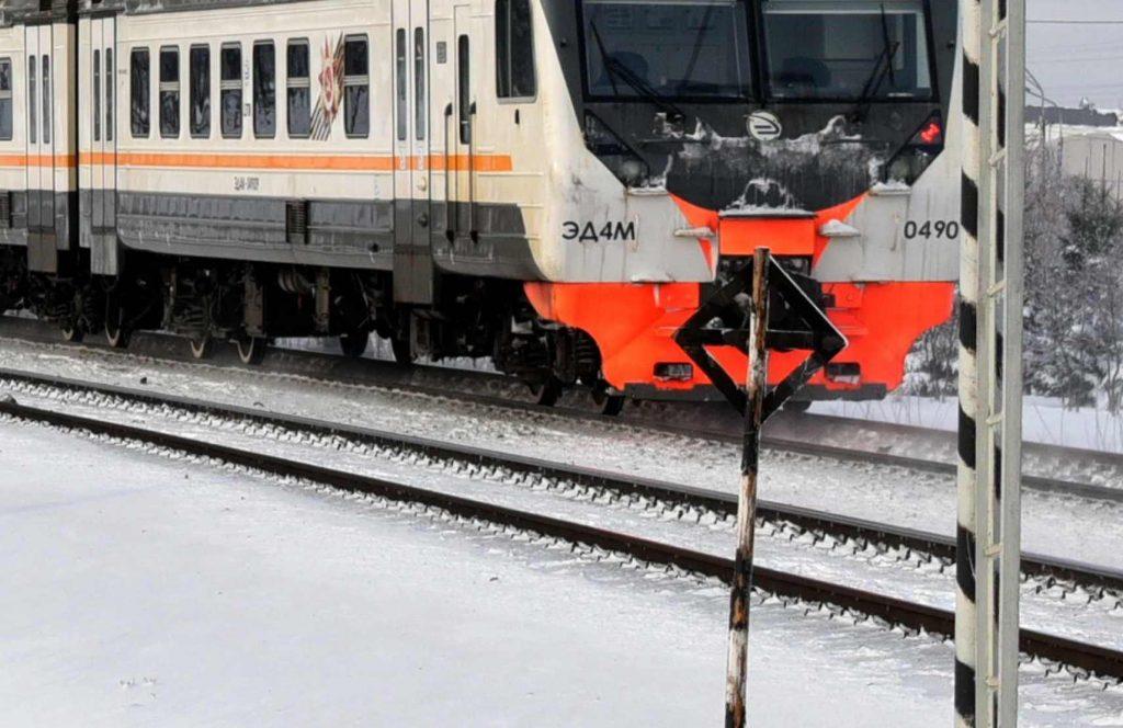 Гибель пешехода под электричкой не парализовала Казанское направление МЖД