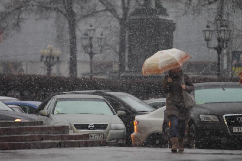 Штормовое предупреждение объявили в Москве