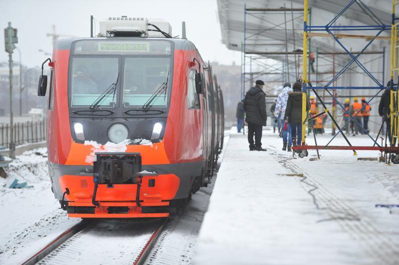 Московская железная дорога просит пассажиров быть аккуратнее из-за ухудшения погоды