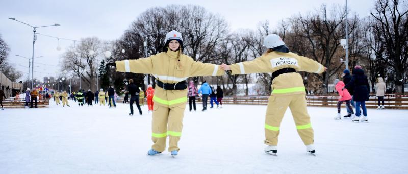 Флешмоб спасателей пройдет в Парке Горького