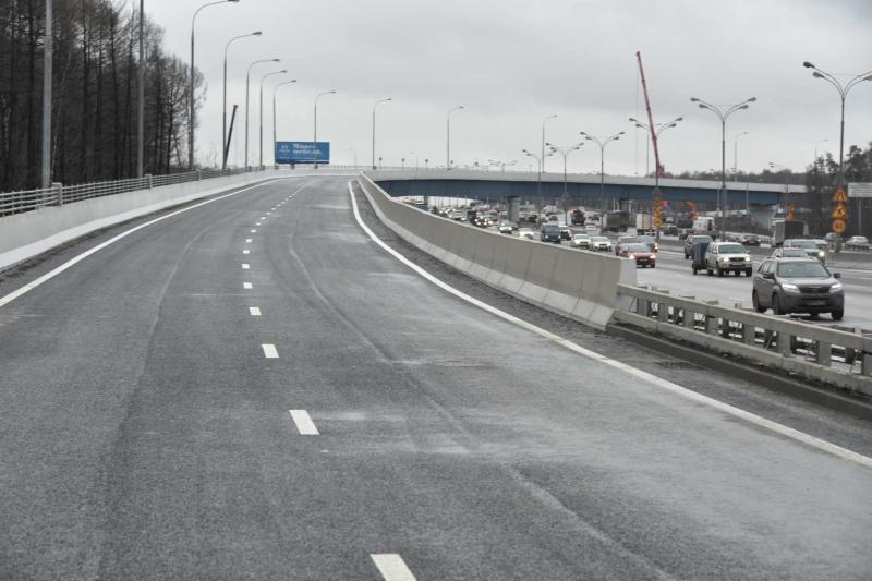 Реконструкцию развязки на пересечении МКАД и Липецкой улицы начнут в 2017 году