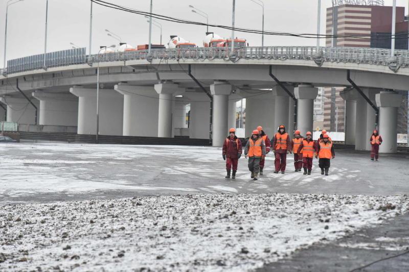 Строительство развязки МКАД на Профсоюзной улице планируют завершить до конца 2017 года