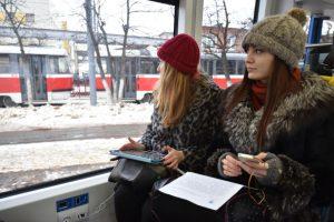"""Ожидается, что трамвайным сообщением на данных направлениях воспользуются около 50 тысяч человек. фото: """"Вечерняя Москва"""""""