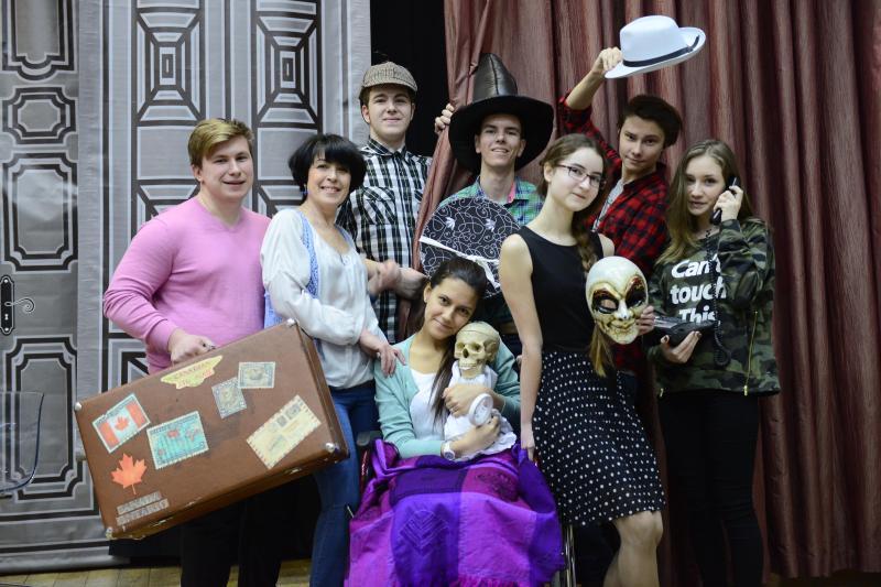 Школьники приняли участие в экспериментальных театральных постановках