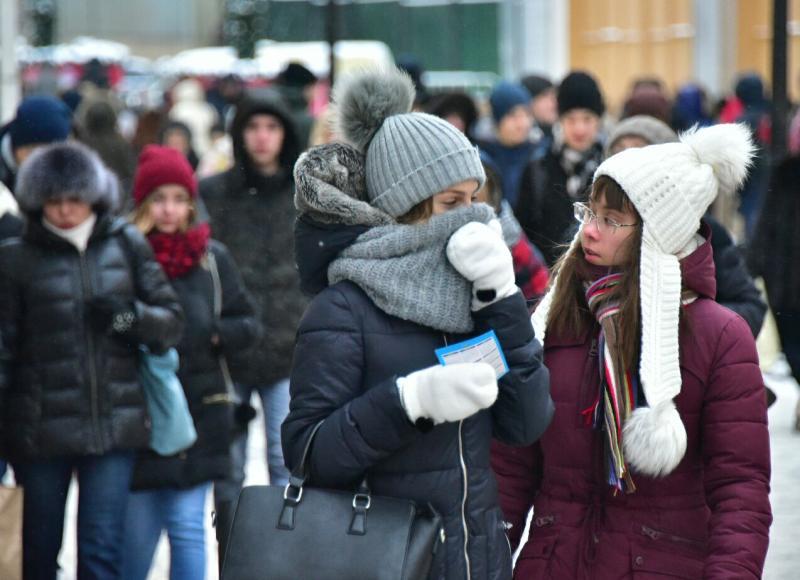 Москвичей ожидает самая холодная ночь