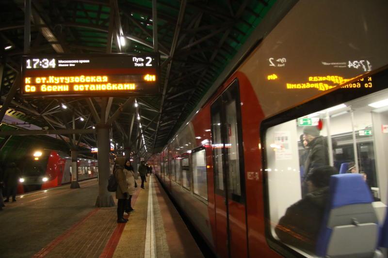 Новый рекорд по числу пассажиров установило МЦК
