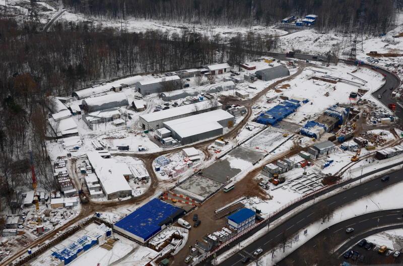 Проект строительства транспортно-пересадочного узла «Лесопарковая» могут пересмотреть