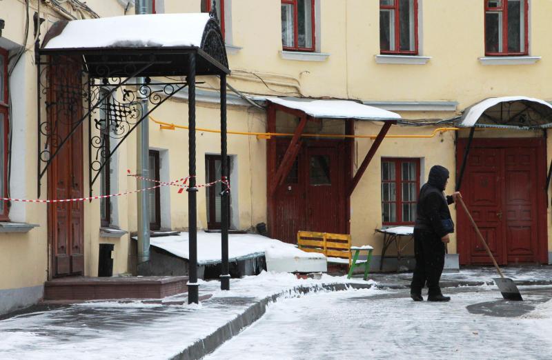 Один из дворов Москворечья-Сабурова привели в порядок по просьбам жителей