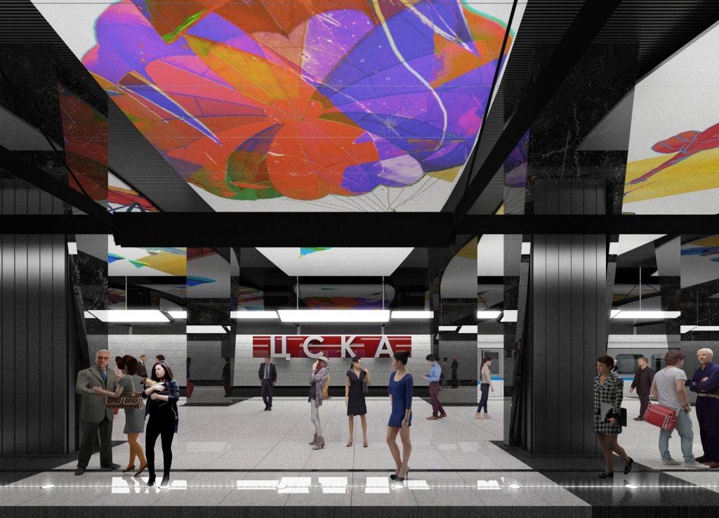 1-ый участок 2-го кольца метро в столицеРФ запустят летом