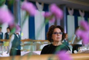 12 октября 2014 года. Актриса Лариса Голубкина на Кремлевском церемониальном балу. Фото: Вячеслав Прокофьев/ ТАСС
