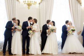 Более двух тысяч пар заключат брак на Красную горку в Москве