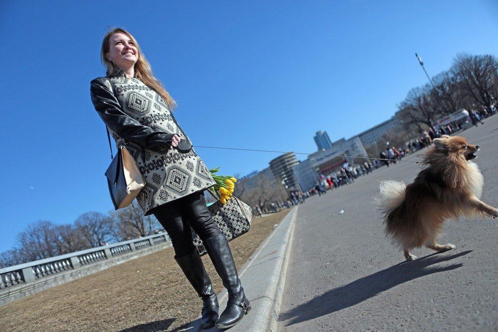 Синоптики: 9 марта в центре Москвы растают сугробы