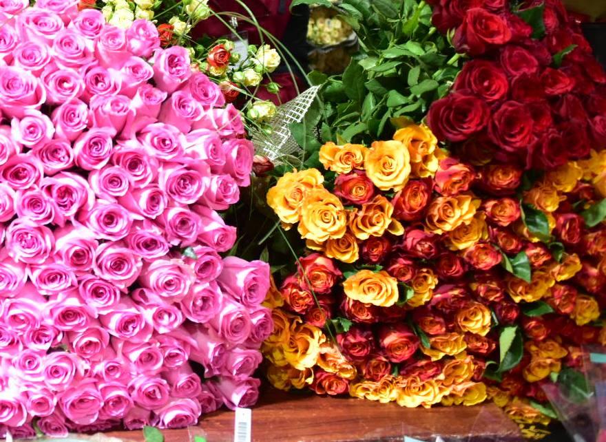 Ограбление цветочного магазина случилось в российской столице 8марта