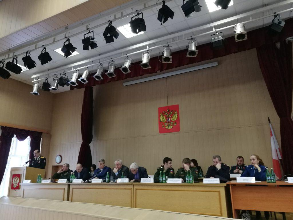 Методические сборы председателей призывных комиссий состоялись в Москве