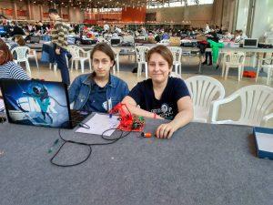 Призеры Всероссийских соревнованиях по робототехнике. Фото предоставлено школой №880