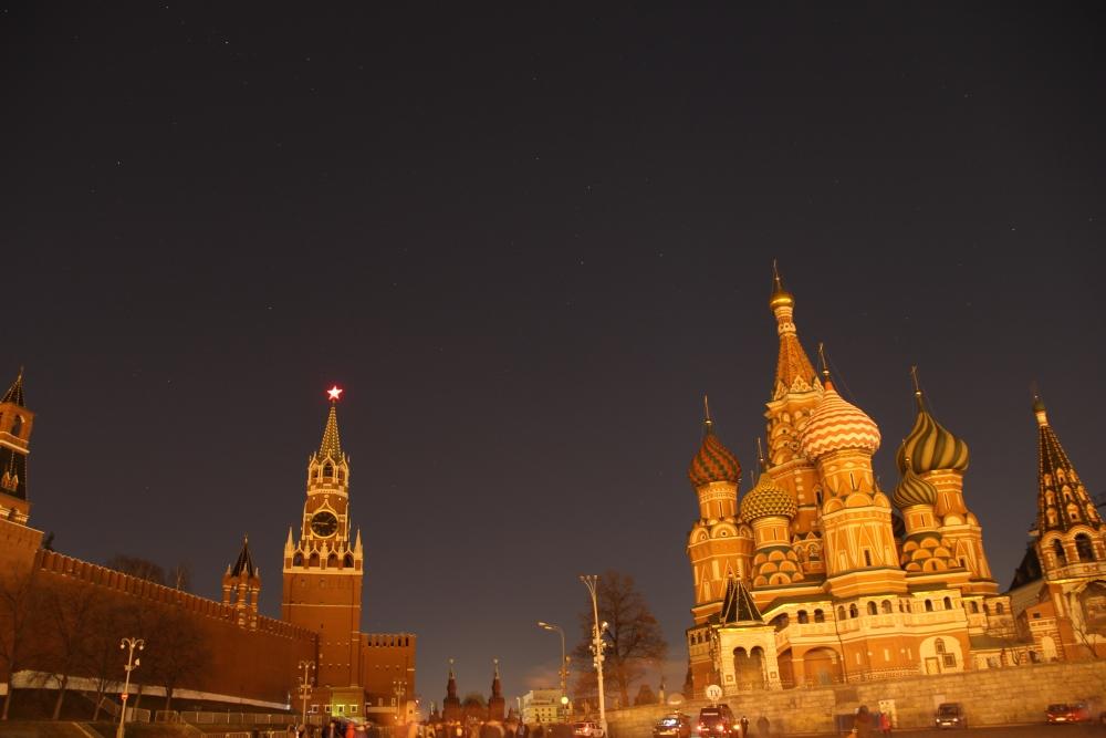 Звезды над Кремлем: акция