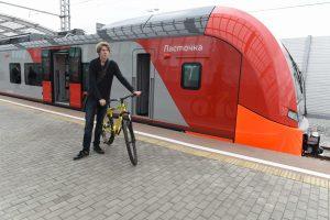 """У станций МЦК появятся парковки для велосипедов. Фото: """"Вечерняя Москва"""""""