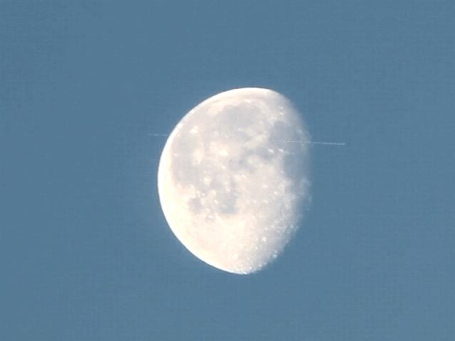 Астроном-любитель из Царицыно заснял полет МКС на фоне Луны