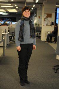 Шеф-редактор газеты «Южные горизонты» Марина Гладкова