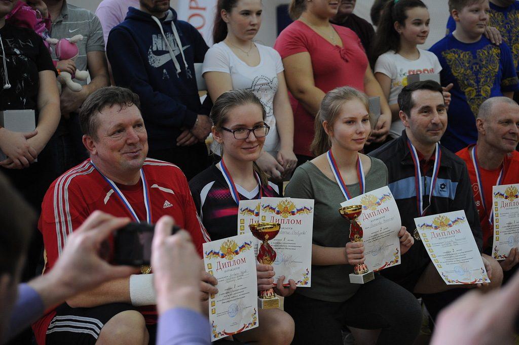 Спортсменок поздравили с Международным женским днем