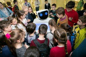 Робот Дарвин. Фото: пресс-служба Дарвиновского музея