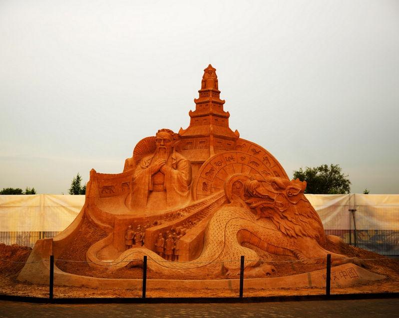 Чемпионат мира по скульптуре из песка пройдет в «Коломенском»