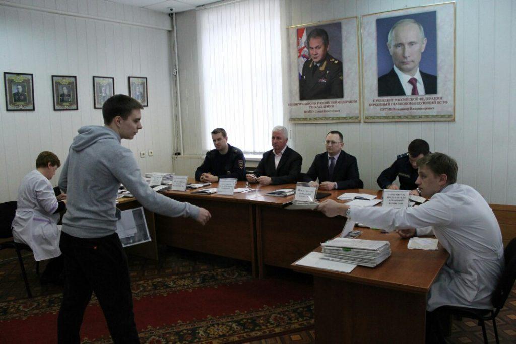 Первая призывная комиссия состоялась на юге столицы