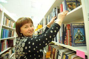 5 апреля 2017 года. Муниципальный депутат Татьяна Шишкова в библиотеке № 162. Фото: Пелагия Замятина