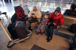 В столичных аэропортах отменены и задержаны 34 авиарейса