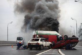 В Москве составили список самых аварийных мест города