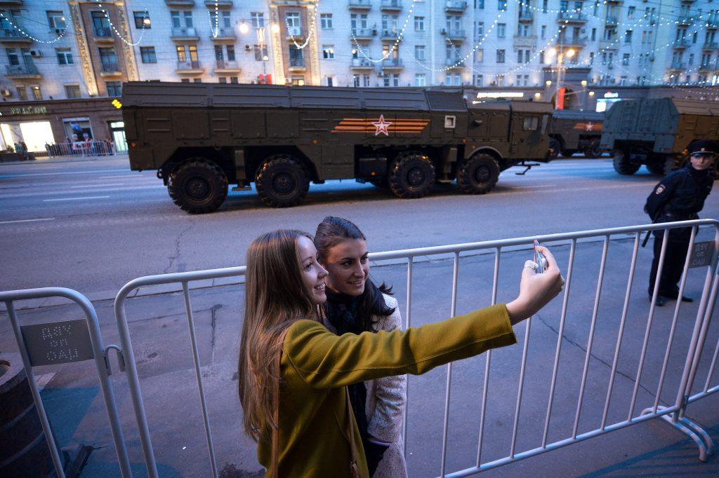 В российской столице до9мая запретят парковку помаршруту прохождения военной техники