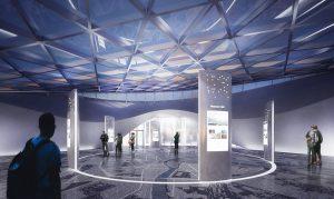 На стеклянный купол в «Зарядье» установят свыше 150 солнечных батарей