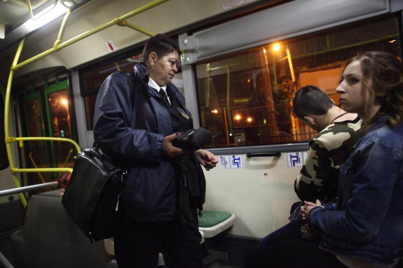 Вобщественном транспорте стало больше безбилетников