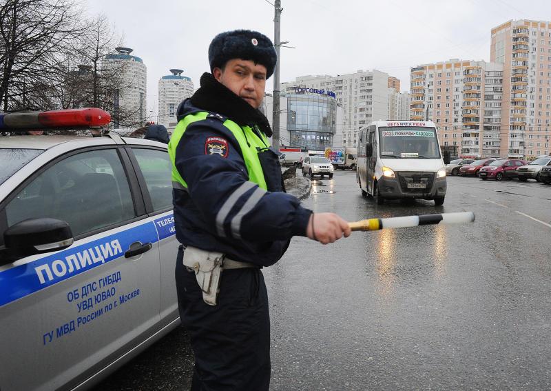 В столицеРФ ввели план «Перехват» после стрельбы помашине