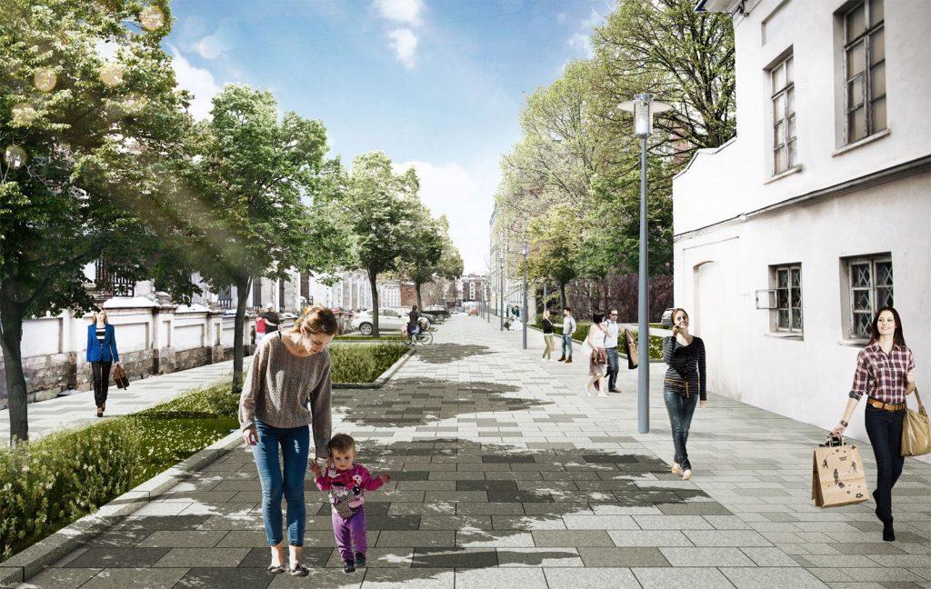 НаЯкиманской набережной появится пешеходная зона