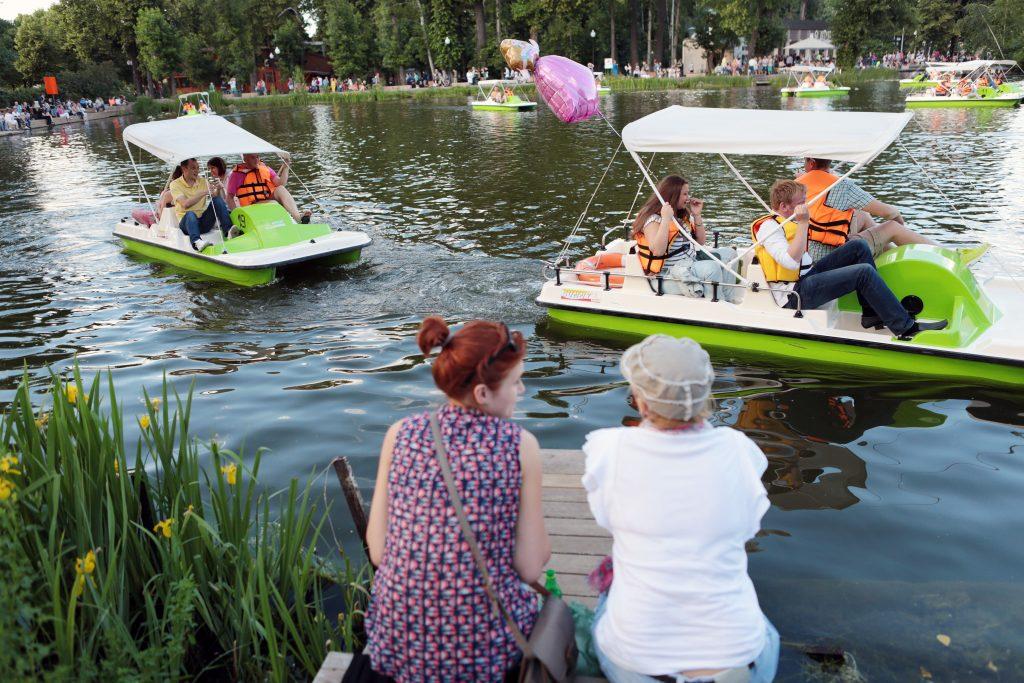 За 2017 год в Москве обновят 24 зоны массового отдыха