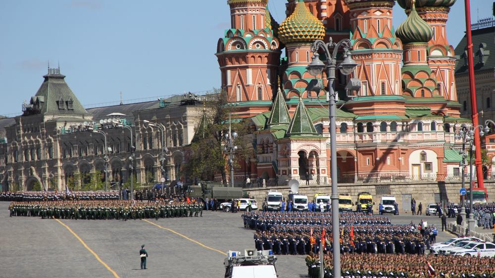 Парадные расчеты прошли по Красной площади, Фото: Филипп Романов