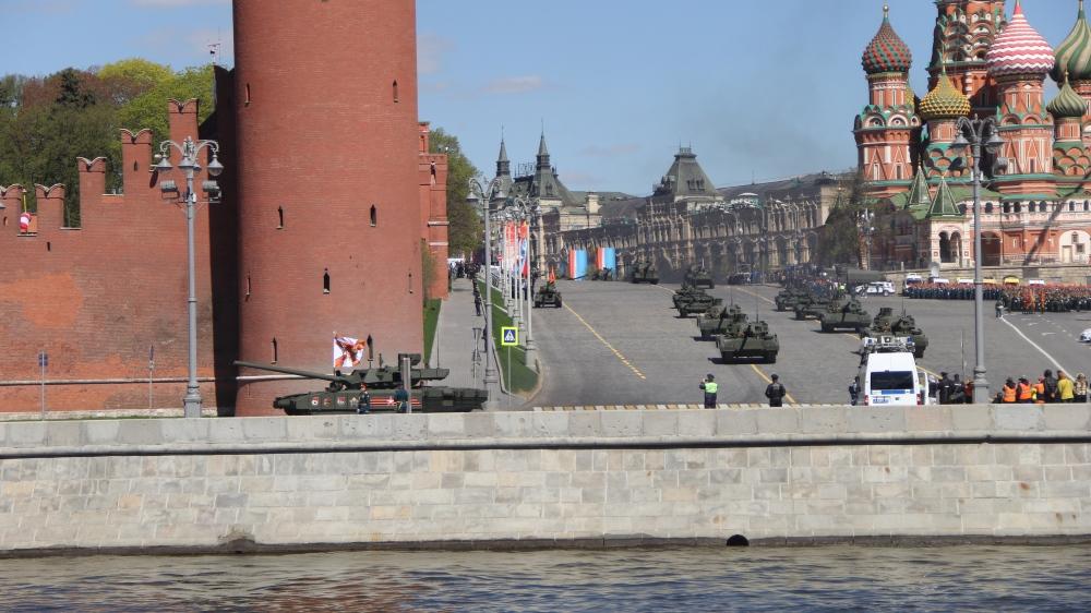 На параде покажут около 144 единиц военной техники, Фото: Филипп Романов