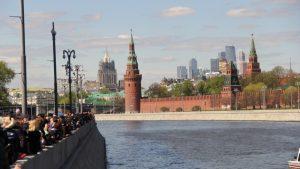 Горожане посмотрели на генеральную репетицию Парада Победы на Красной площади, Фото: Филипп Романов